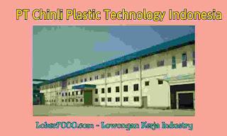 Lowongan Kerja Tangerang PT Chinli Plastic Technology Indonesia Terbaru