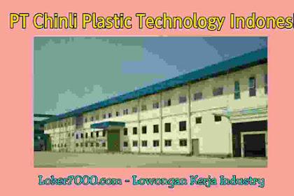 Lowongan Kerja Operator Produksi PT Chinli Plastic Technology Indonesia Tangerang 2019