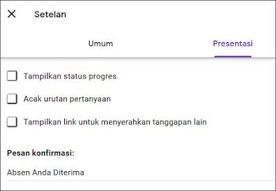 Cara Membuat Absen di Google Classroom - 2H
