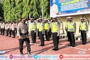 Jelang Ramadhan, Polres Enrekang Laksanakan Apel Gelar Pasukan Ops Keselamatan 2021