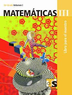 MatemáticasIII libro para el MaestroVolumen I–Tercer gradoLibro de texto de Telesecundaria2017-2018