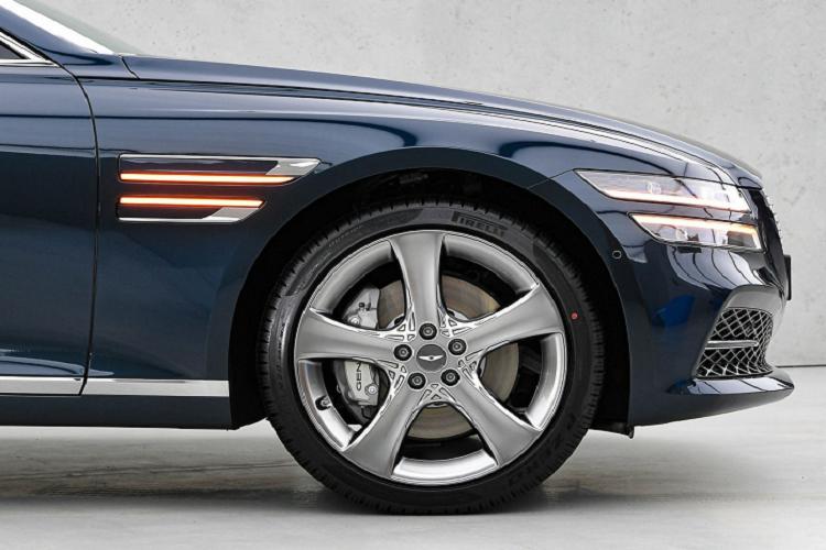 Genesis G80 2021 rẻ hơn, công nghệ xịn sò hơn xe sang Đức