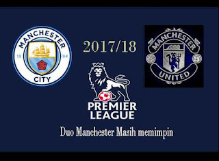 Duo Manchester Masih Memimpin Klasmen Liga Inggris