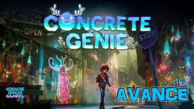 Avance Concrete Genie PS4