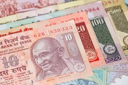 INDIAN RUPEE HITS FRESH LIFETIME LOW TO 70 FOR DOLLAR
