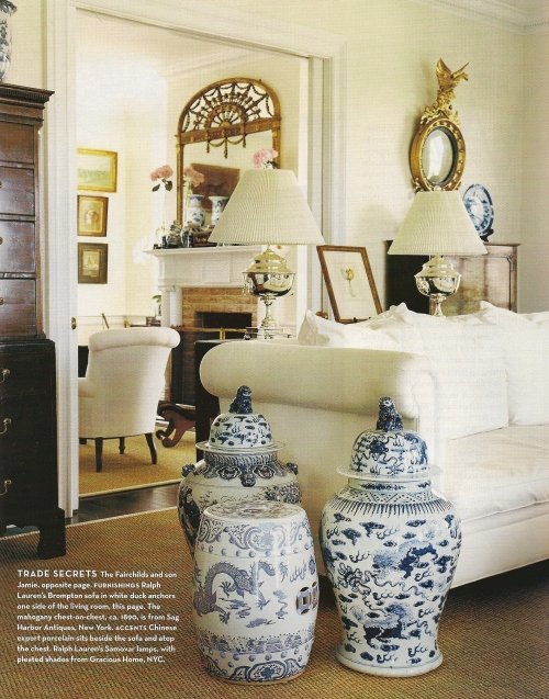 Chinoiserie Chic The Blue And White Chinoiserie Home