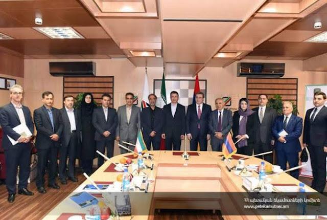 Armenia e Irán firman cooperación aduanera