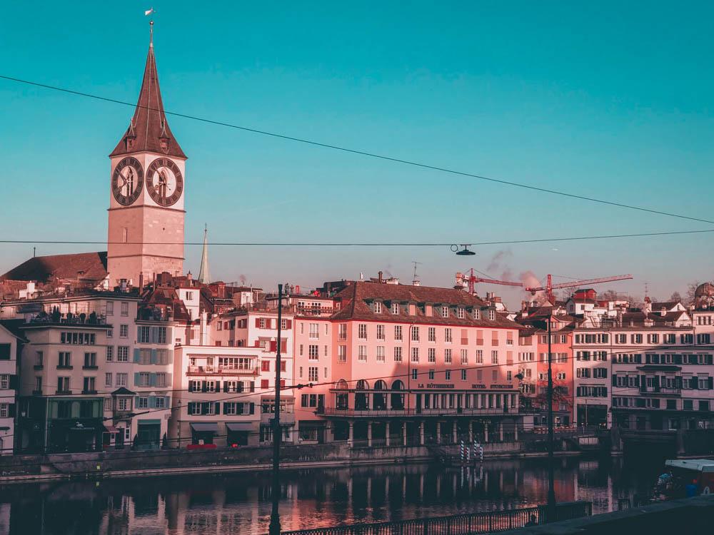 zurich - blog voyage - laquotidiennedele - eglise saint-pierre