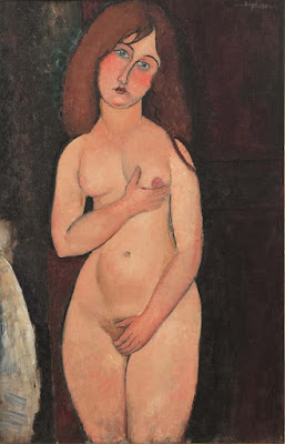 Amadeo Modigliani - Nu,1917.