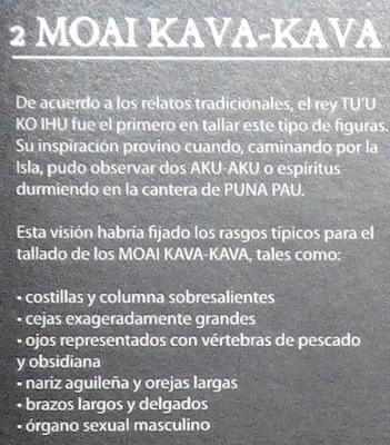 Moai Kava Kava, Museo de Isla de Pascua