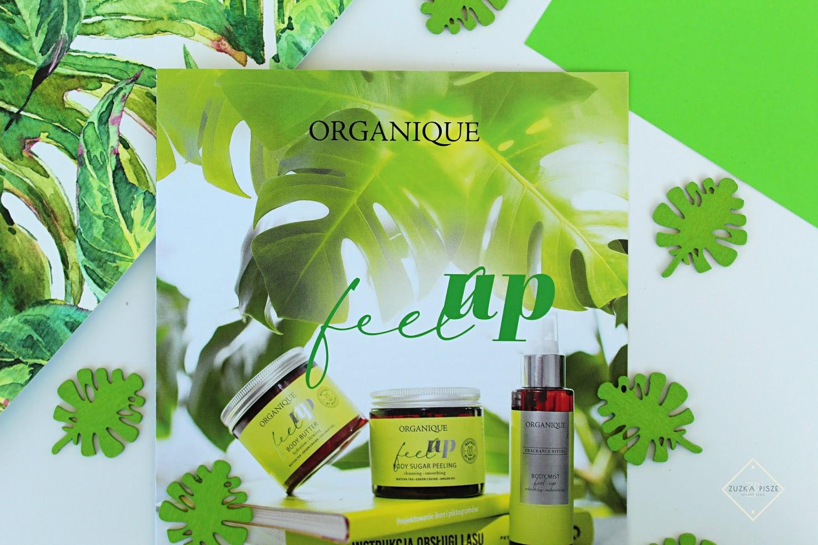 Energetyzujące kosmetyki do ciała i włosów - ORGANIQUE FEEL UP