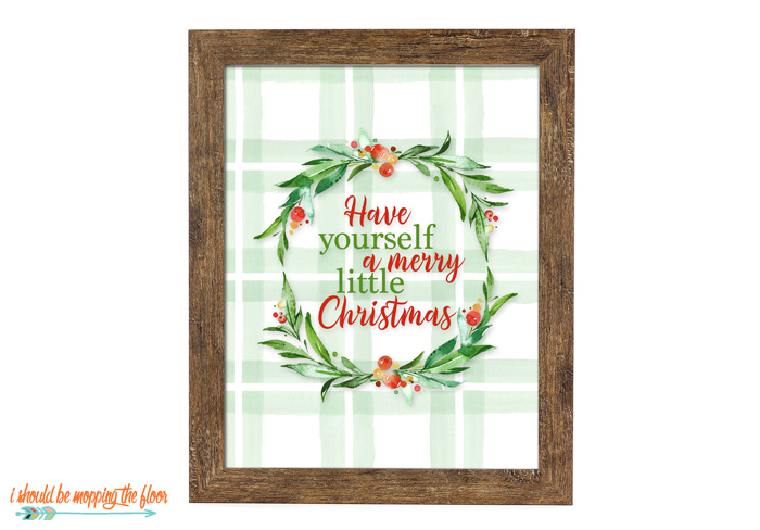 Oversized Christmas Printables