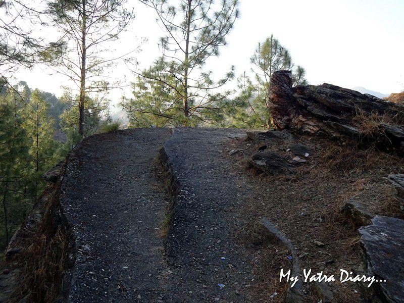 Lakhudiyar rock cut caves in Almora Uttarakhand