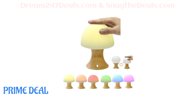 40% OFF Wooden Lamp 7 Different Color Lamp