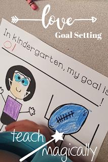Teach Magically Goal Setting Pin