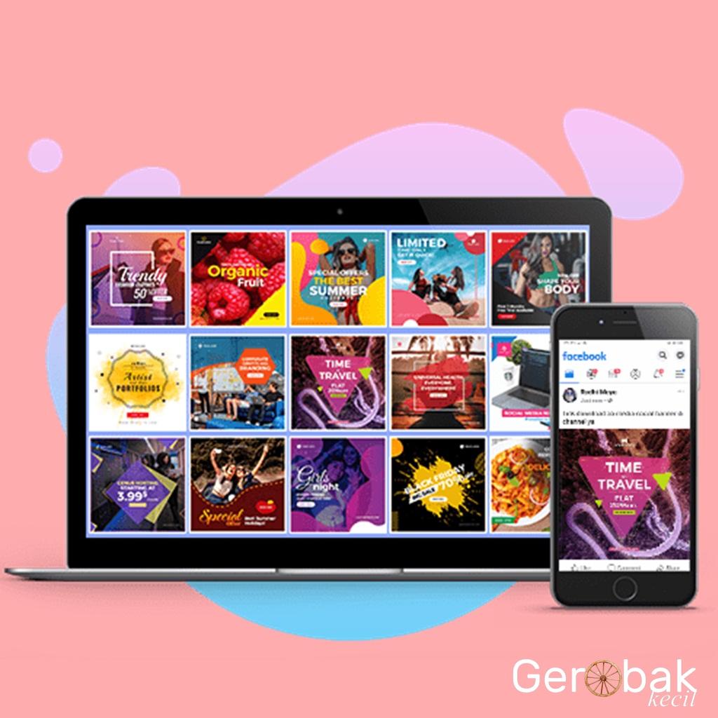 Jual template post / story Instagram dan Facebook / template idea 2020