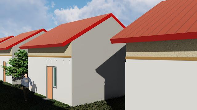 Desain rumah tunggal
