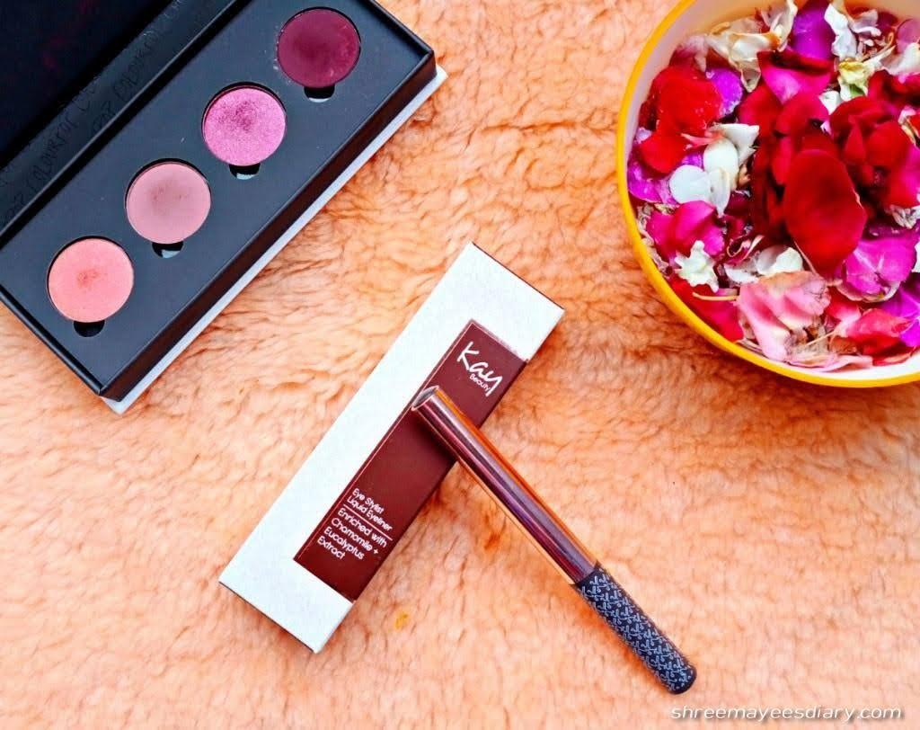 Kay Beauty, liquid eyeliner, brown