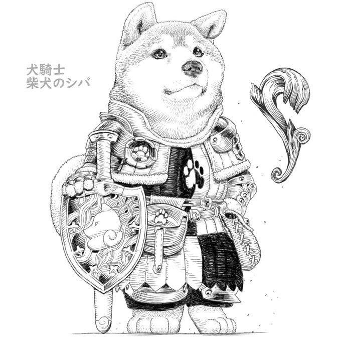 08-Shiba-Inu-PankichiM-Mofumofu-Animals-www-designstack-co