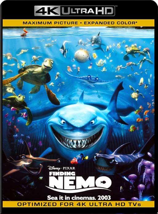 Buscando a Nemo (2003) 4K 2160p UHD [HDR] Latino [GoogleDrive]