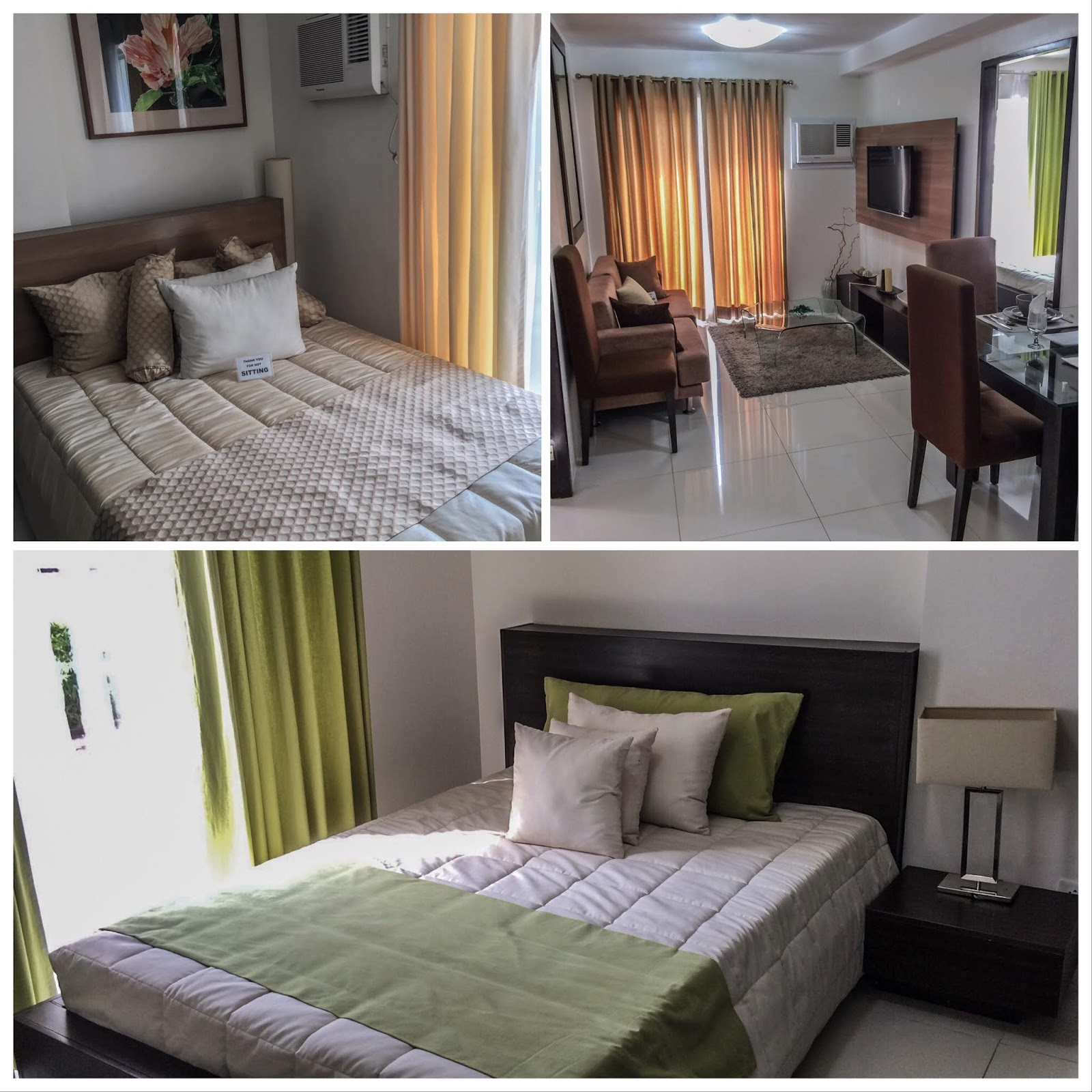 Bamboo Bay Community Mandaue Condo Showroom 3 with 2 bedrooms