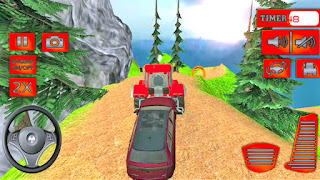 Offroad Tractor Pull Tow Duty Game