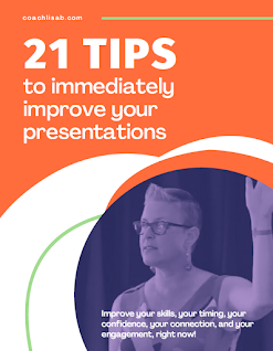 FREE! 21 Tips to Immediately Improve Your Presentations