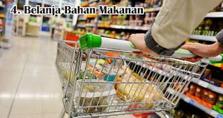 Belanja Bahan Makanan merupakan salah satu keperluan jelang lebaran yang harus kamu siapkan
