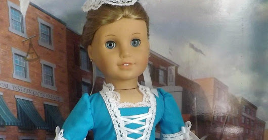 Featuring Historical Doll Clothing Designer With a Touch of Class for American Girl Dolls and Ellowyne Wilde Dolls