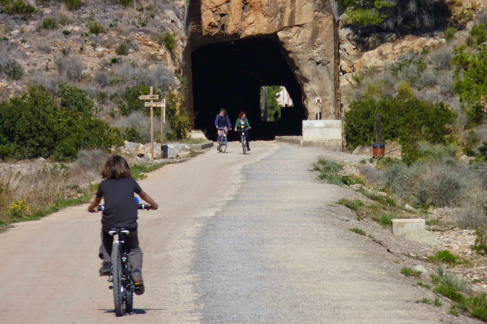 La Vía Verde, Túnel del Bovalar.
