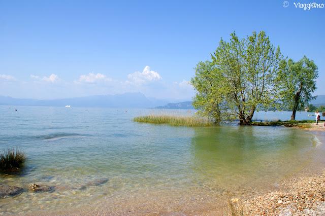 Lago di Garda e lungo lago da Lazise