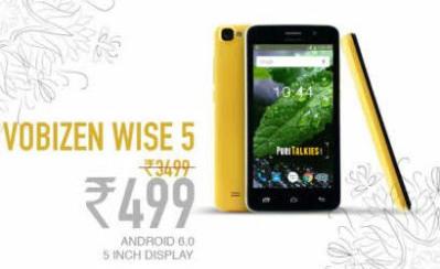 Vobizen Wise 5 Buy Now, Vobizen Wise 5 Register now, Vobizen Wise 5, Cheapest 3G smartphone at www.vobizenmobiles.com