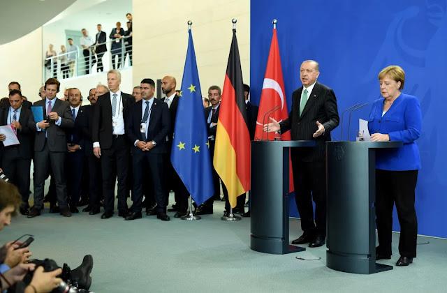 Χωρίς το Βερολίνο, Τουρκία και Ερντογάν θα αντιμετωπίσουν δυσκολίες