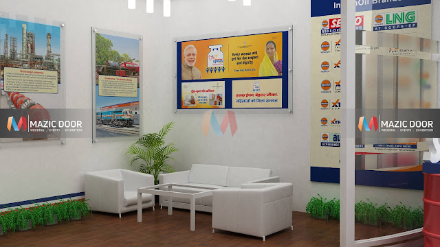 Mazicdoor Indian Oil Stall Design 04