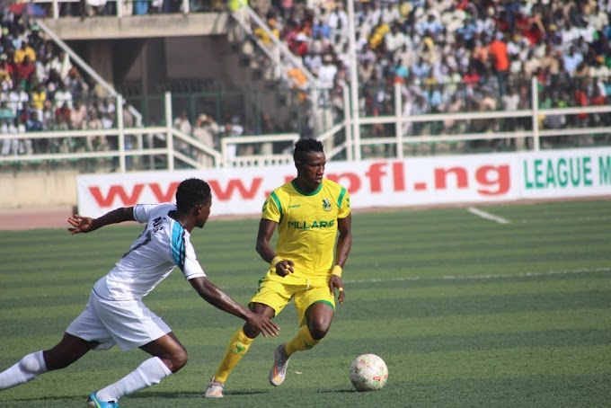 The Nigeria Professional Football League Matchday 16 Fixtures