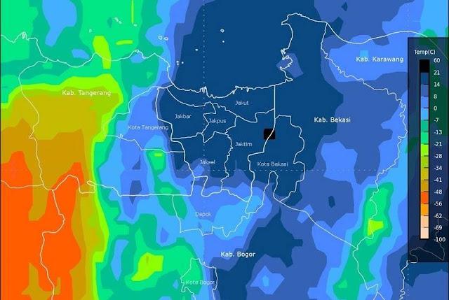 Diprediksi Hujan Deras Bercampur Petir, Cuaca Di Jakarta Saat Aksi Damai Berubah, Begini Kata BMKG