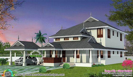 Traditional type home 2448 sq-ft