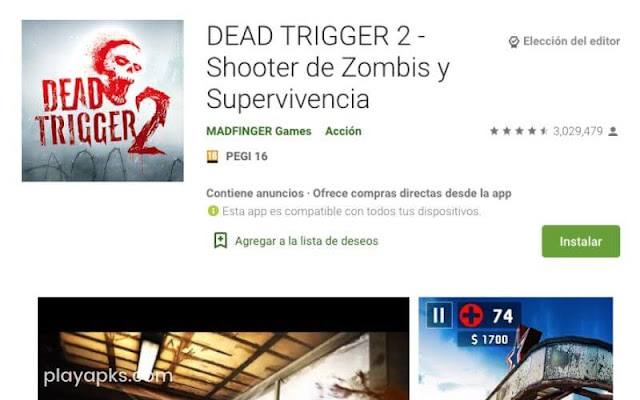 Descargar DEAD TRIGGER 2 apk en android