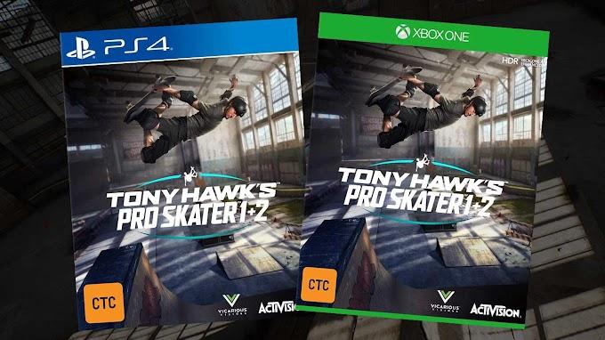 Sorteio do Game Tony Hawk Pro Skater 1 + 2