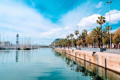 Costanera de Paseo Marítimo en Barcelona