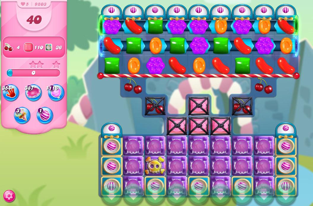 Candy Crush Saga level 9203