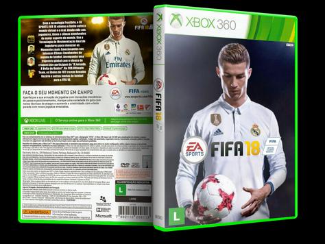 Capa xBox 360 FIFA 18