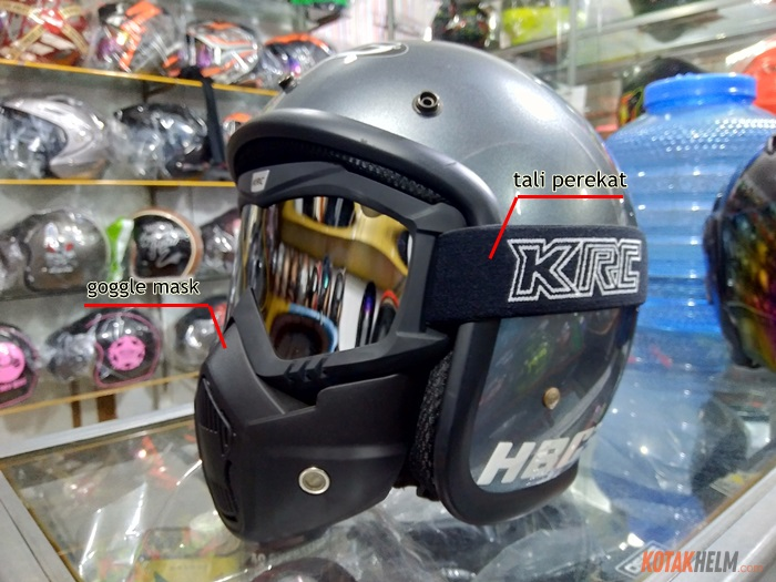 HBC retro + goggle mask KRC