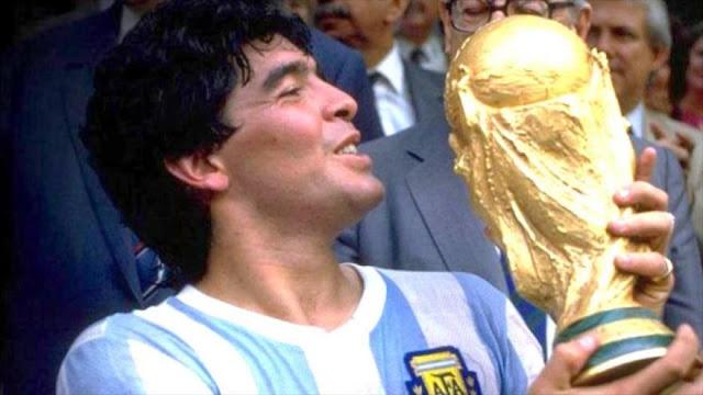 Maradona admite: Tecnología hubiese anulado mi gol a Inglaterra