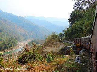 Jatinga hills view form train