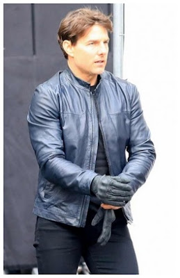 Gambar Jaket Kulit Mission Impossible 6 Tom Cruise Terbaru