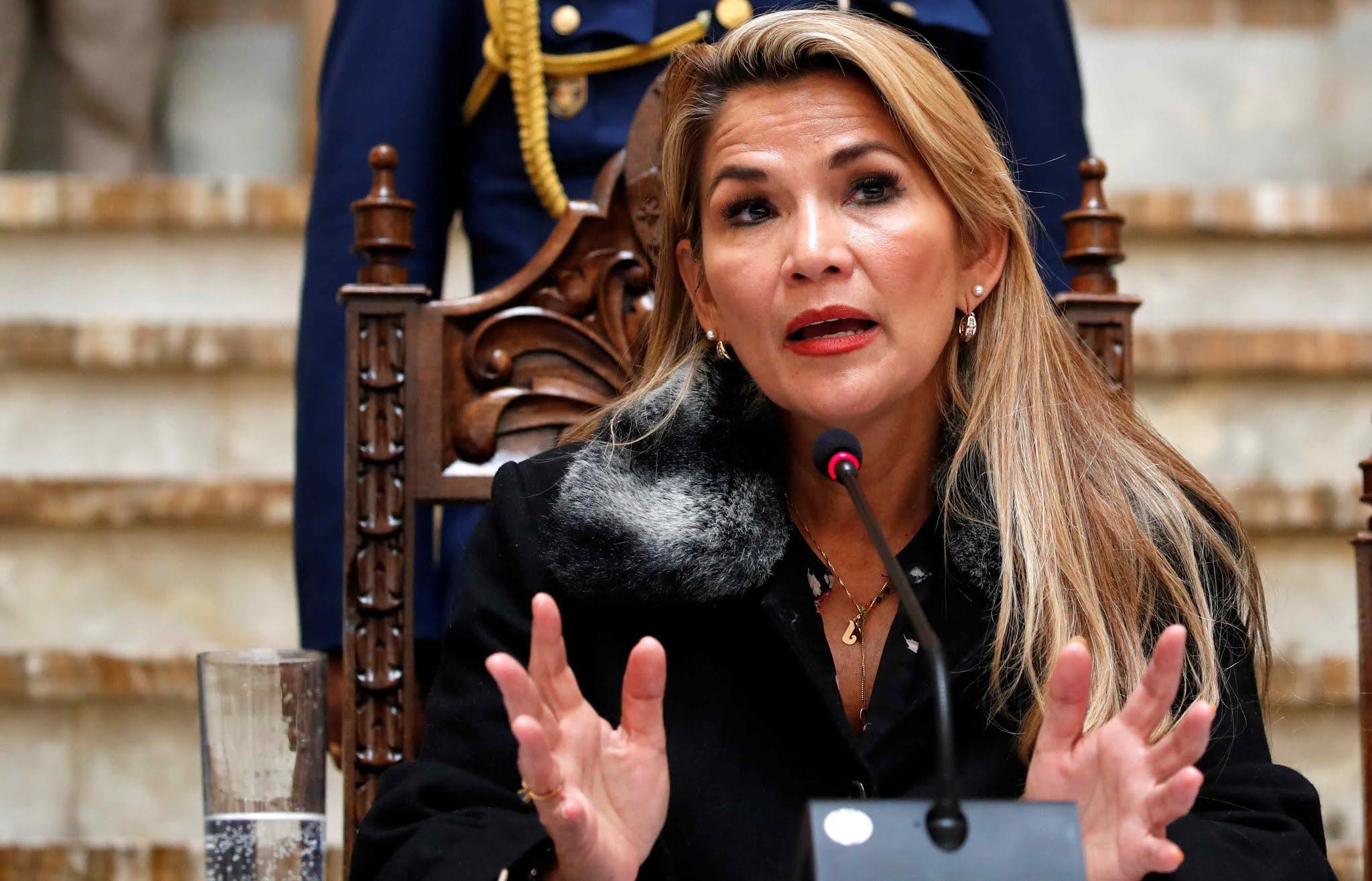 La justicia de Evo Morales detuvo a Jeanine Añez