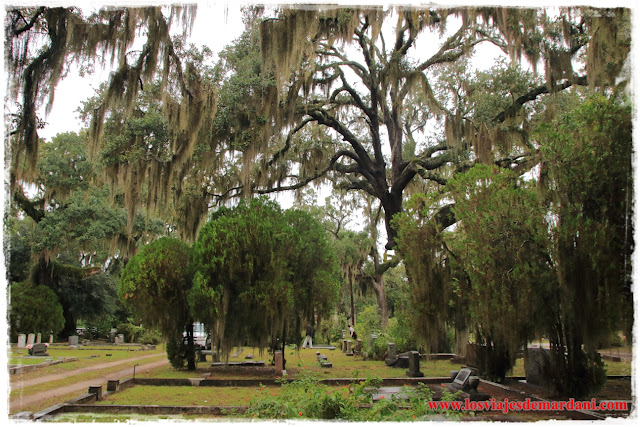 El fantasmagórica cementerio de Bonaventure