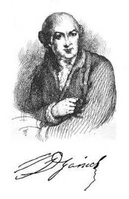 David Garrick  from The Life of David Garrick  by Percy Fitzgerald (1868)