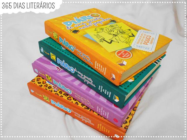 Coleção Diário de Uma Garota Nada Popular (Rachel Renée Russell); TAG Literária; DesafioFãDeLivros